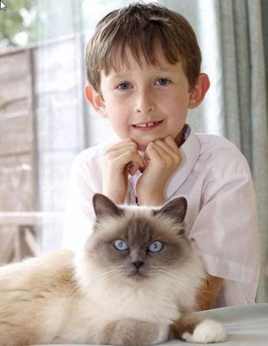 Pronuncia sus primeras palabras, con 7 años de edad, gracias a una gata